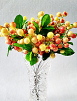 Simulation Bubble Blueberry Fruit Simulation Plant Christmas Fruit Simulation Single Berries Mini Blueberry Small Fruiting Branches 10 Branch/Set