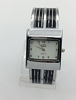 Жен. Наручные часы Кварцевый Металл Группа Кольцеобразный Черный Фиолетовый