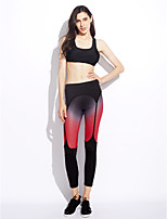 Women's Mid Rise strenchy Active Pants,Active Skinny Print