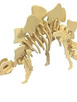 Kit Faça Você Mesmo Quebra-Cabeças 3D Quebra-Cabeça Brinquedos Dinossauro Animal 3D Simulação Não Especificado Peças