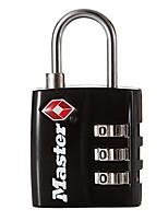 MASTER LOCK 4680DNKL Zinc Alloy Padlock Padlock 3-Digit Digital Key Lock TSA Locking Bags Locker Lockable Padlock Dail Lock Password Lock