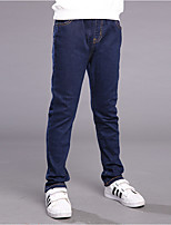 Boys' Solid Pants-Cotton Polyester Fall