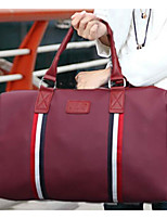 Unisex Travel Bag Oxford Cloth Polyester All Seasons Casual Outdoor Round Zipper Red Black Blue