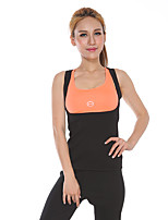Femme Sans Manches Course / Running Ensemble de Vêtements Fitness, course et yoga Eté Vêtements de sport Yoga Course Fitness Jogging Mince