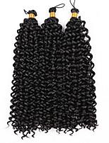 Кудрявые косы Косы Кудрявый 100% волосы канеколон Черный Черный / Клубника Blonde Черный / Medium Auburn Черный / Бургундия Средний