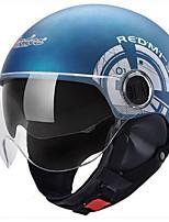 Каска Плотное облегание Компактный Воздухопроницаемый Лучшее качество Half Shell Спорт Каски для мотоциклов