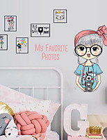 De moda Ocio Pegatinas de pared Calcomanías de Aviones para Pared Calcomanías Decorativas de Pared Material Decoración hogareña Vinilos