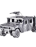 Пазлы Набор для творчества 3D пазлы Металлические пазлы Строительные блоки Игрушки своими руками Автомобиль Алюминий