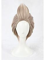 cosplay perruque Synthétique Sans bonnet Perruques Court Marron Cheveux