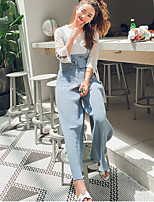 Women's Daily Simple Spring, Fall, Winter, Summer T-shirt Pant Suits,Solid Round Neck 3/4 Length Sleeve