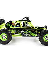 WL Toys 12428 Rock Climbing Car 1:12 Brush Electric RC Car 50 2.4G 1 x Manual 1 x Charger 1 x RC Car