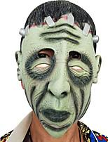 ハロウィンフル・ホラー恐ろしいマスク仮面舞踏会パーティー動くテーマドレスマスクの顔のフードを見た