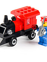 Building Blocks For Gift  Building Blocks Train Plastics 6 Years Old and Above 3-6 years old Toys  54PCS
