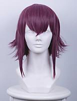 cosplay perruque Synthétique Sans bonnet Perruques Court Violet Cheveux