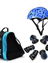 Enfants Équipement de protection Protège Genoux, Protège Coudes & Protège Poignets Casque de Skate pour Cyclisme Skateboard Roller en