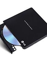 Lg 8x usb2.0 interface externe lecteur dvd graveur windows 8 et mac système d'exploitation gp65nb60