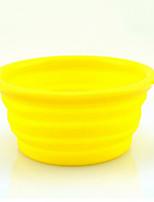 Chien Bols & Bouteilles d'eau Animaux de Compagnie Bols & alimentation Portable Noir Orange Jaune