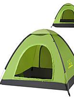 3-4 personnes Sac de Voyage Tente pliable Tente de camping Satin Elastique Garder au chaud-Camping / Randonnée-