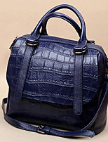 Women Shoulder Bag Cowhide All Seasons Casual Outdoor Square Zipper Amethyst Black Blue