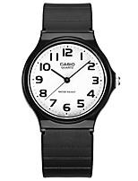 Casio Mulheres Homens Relógio Esportivo Relógio de Moda Relógio de Pulso Japanês Quartzo Impermeável Borracha Banda Legal Casual Preta