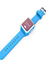 Муж. Модные часы Цифровой Защита от влаги Pезина Группа Синий Зеленый Розовый Желтый