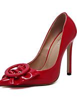 Femme Chaussures à Talons Confort Nouveauté Semelles Légères Cuir Verni Eté Automne Mariage Décontracté Habillé Soirée & EvénementConfort