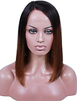 Premier New Style Brazilian Human Hair  Remy Wigs Ombre Tone Color Lace Wig