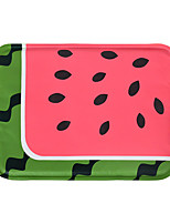 Cat Bed Pet Mats & Pads Fruit Portable Breathable Casual/Daily Red Golden