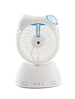 Mini USB Fan Atomization Chargeable Cute with 130cm Cable