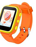 Детские Смарт-часы Модные часы Цифровой Защита от влаги Pезина Группа Синий Оранжевый Розовый