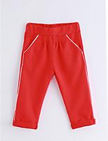 Pantaloni Da ragazzo Cotone Tinta unita Primavera/Autunno