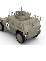 Puzzles Kit de Bricolage Puzzles 3D Blocs de Construction Jouets DIY  Tank