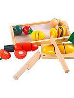 Toy Foods Square Wooden Children's