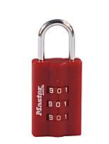 MASTER LOCK 623MCN Zinc Alloy Padlock Padlock 3 Digit Password ABS Material Lock Body Child Code Lock Padlock Dail Lock Password Lock
