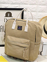 Women Bags All Seasons PU Backpack with for Casual Blue Blushing Pink Camel