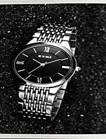 Жен. Модные часы Кварцевый Нержавеющая сталь Группа Серебристый металл