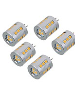 5.5W Luces LED de Doble Pin T 21 SMD 2835 550-650 lm Blanco Cálido Blanco Fresco V 5 piezas