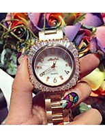 Women's Fashion Watch Quartz Stainless Steel Band Rose Gold