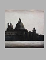 Dipinta a mano Paesaggi astratti Astratto Un Pannello Tela Stampa For Decorazioni per la casa