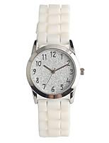 Жен. Модные часы Японский Кварцевый / силиконовый Группа Повседневная Белый