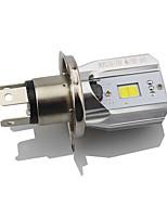 1pcs h4 led bulle de phare de moto hi lo beam driving drl lampe blanc 6000k dc12v-80v