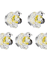 5pcs Dimmable LED Downlights 1w Warm White Crystal 220v