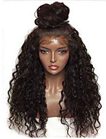 8-26 Inch Indian Human Hair Water Wave Glueless Full Lace Wigs With Baby Hair For Black Women Comfortable Wearing Cheap On Sale