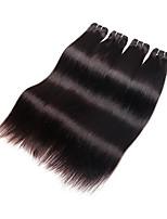 500g 5bundles brazilian virgin hair straight on sale 6a grade natural black color 100% virgin human hair material no shedding no tangles smooth soft