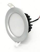 ZDM 7W Dimmable Waterproof  IP65 600-650LM Silver Round  LED Downlight Ceiling light Semi outdoor Cold White/Warm White  AC220V