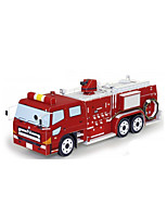 DIY KIT 3D Puzzles Paper Model Construction Vehicle Train Fire Engine Vehicle Toys Train Chariot Not Specified Pieces