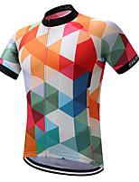 SUREA חולצת ג'רסי לרכיבה אופניים חולצה סווטשירט ג'רזי צמרותייבוש מהיר חדירות ללחות רוכסן קדמי רצועות מחזירי אור בד קל מאוד תומך זיעה