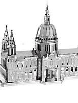 Puzzle Puzzle 3D Modellini di metallo Costruzioni Giocattoli fai da te Rettangolare Alluminio