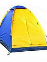1 personne Tente Unique Tente pliable Une pièce Tente de camping 1500-2000 mm Fibre de Verre Térylène Etanche Pliable-Camping / Randonnée-