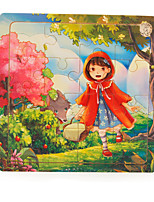 Jigsaw Puzzles Wooden Puzzles Building Blocks DIY Toys Square Wooden